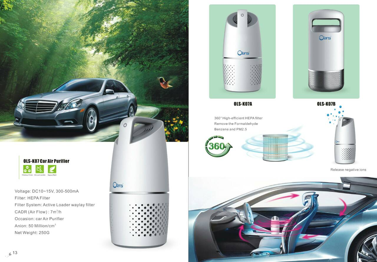 Car Air Purifier OLS-K07A