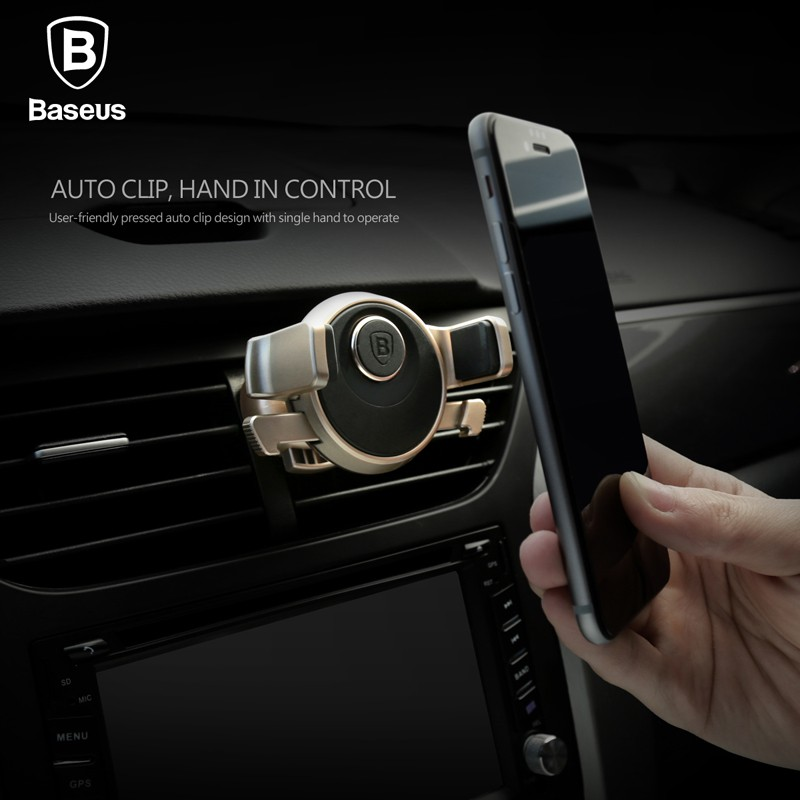 Baseus Mechanical Era Car Mount (Gold)